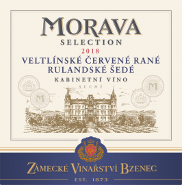Morava Selection VCR+RS kab 2018 ETIKETA